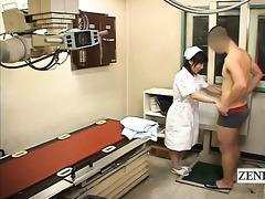 subtitle cfnm japanese nurse patient disrobe