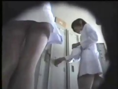 oriental nurses on spy camera