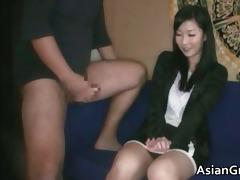 cute brunette oriental sweetheart with great
