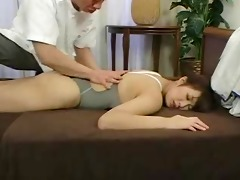 softcore oriental swimsuit massage