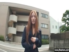 cute sexy oriental gal flash her body and fuck