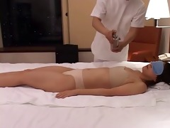 slutty japanese wives massaged and then drilled