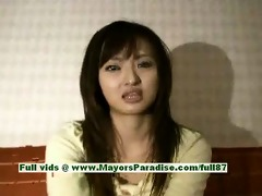 saori blameless nasty chinese girl is talking
