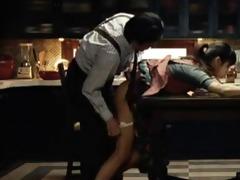 sympathy for lady dinner scene