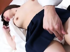 innocent looking miki uemura has her hirsute fur