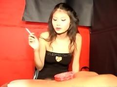 oriental mistress smokin