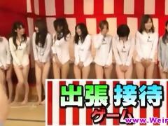 asian honeys in weird oriental game show
