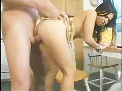 oriental playgirl receives fucked on her birthday