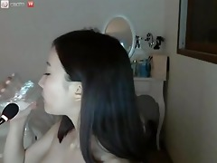 hawt korean hottie on livecam