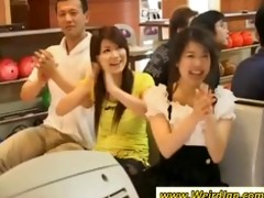 oriental hotties receives nasty at a party