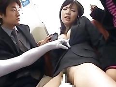 japanese av model a-hole groped