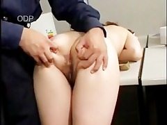 obese japanese playgirl fukced in office