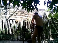 oriental outdoor bathroom and cum