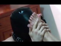 chinese female-dominant jane sydney foot worship