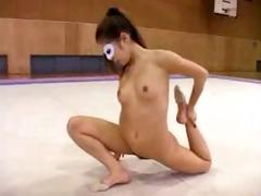 stripped gymnastics japan