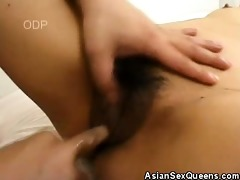 hairy cookie japanese playgirl drilled