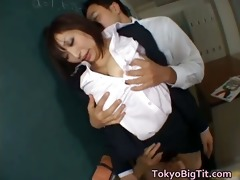 hinano sakaki knockers real oriental school