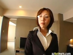 marvelous secretary office lady reina