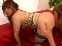 underware and deep oriental anal banging