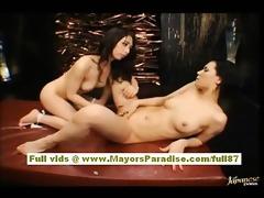 maria and osawa chinese girls caress every others