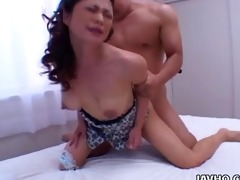 sexy marie sugimoto drilled from behind!