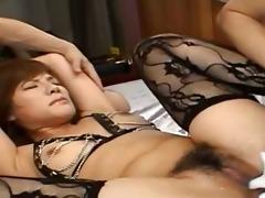 sexy oriental anal permeate with underware