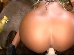 japanese bimbo with big sex toy - pov