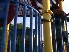 public masturbation on the playground