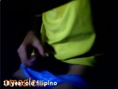 1110 year old filipino guy wanks and cums