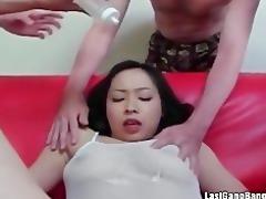 oriental aged bitch gang bang fellatio joy