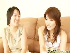 thrilling real oriental dykes testing part5