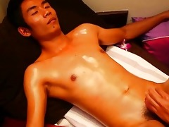 smooth oriental chap in authentic carnal thai