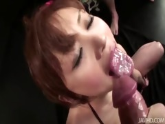 miina stands fast as a group of studs touch,