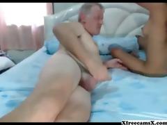 old chap acquires a precious blojob from thai