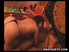 corpulent dilettante oriental wife sucks and