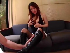 japanese hotty in boots