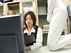strange japan porn, invisible man forces office