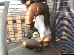 oriental hawt beauty love fucking outdoor vid-29