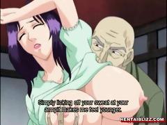japanese manga mamma with massive jugs receives