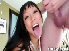 oriental gaia from behind fuck