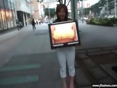 oriental girl flash body and get hard sex vid-33