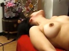greatly hairy japanese beauty anal gangbang