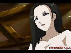 japanese anime hard from behind poking