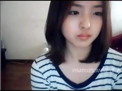 cute oriental web camera angel