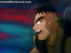 fantastic manga movie scene with engulfing