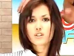 news oriental hottie getting facial live