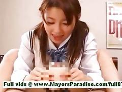 akane sakurayoung japanese schoolgirl in couch