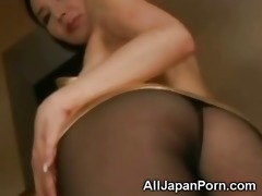 japanese honey in pantyhose!