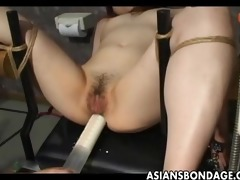 japanese serf bitch gets her wet bawdy cleft