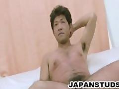 teppei kawashima - bushy a-hole japanese dilf